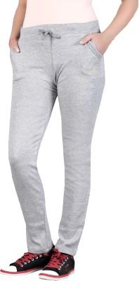 SATYAM Solid Women's Grey Track Pants