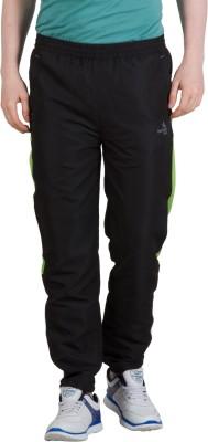 Goodluck L-0008 A Solid Men's Black, Green Track Pants