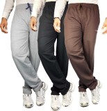 Bluedge Solid Men's Grey, Black, Brown T...