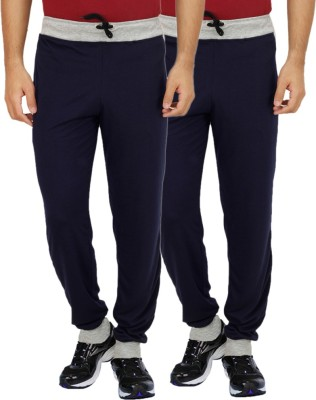 Sanvi Traders Solid Men's Multicolor Track Pants