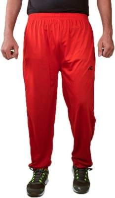 Ave Solid Men's Red Track Pants