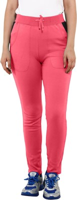 Softwear Solid Women's Pink Track Pants