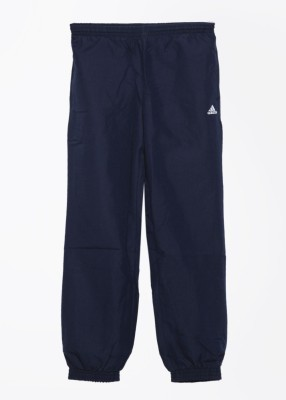 Adidas Solid Men's Blue Track Pants