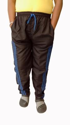 Mode Solid Men's Black Track Pants