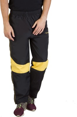 Burdy Solid Men's Yellow Track Pants