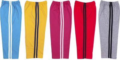 Hunny Bunny Solid Baby Boy's Blue, Yellow, Pink, Red, Grey Track Pants