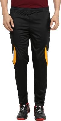 Gumber Solid Men's Black Track Pants