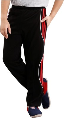 Fizzi Solid Men's Black Track Pants