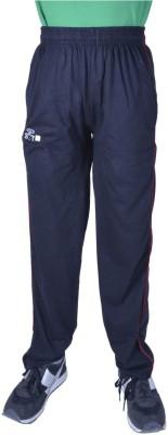 SST Solid Men's Black, Blue Track Pants