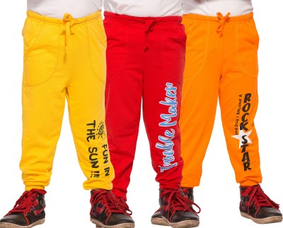 Maniac Printed Boy's Multicolor Track Pants