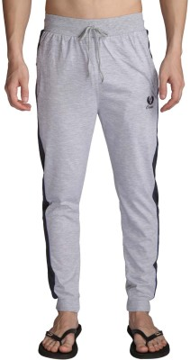 Illicit Nation Solid Men's Grey Track Pants