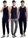 Dee Mannequin Self Design Men's Grey, Bl...