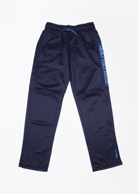 Reebok Printed Men's Dark Blue Track Pants