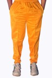 Dyed Colors Solid Men's Yellow, Yellow T...