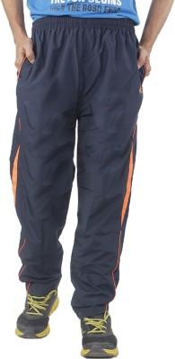 Hannspree Solid Men's Dark Blue Track Pants