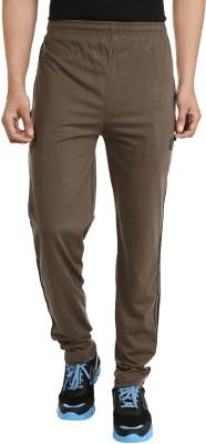 Forever19 Plain Solid Men's Brown Track Pants