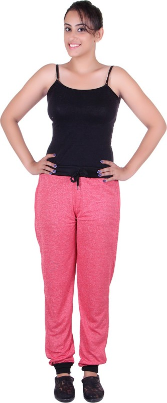 Gag Wear Solid Women's Red Track Pants