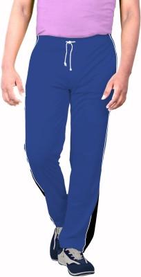 SPORTEE Solid Men's Dark Blue Track Pants