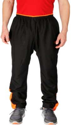 Vector X Solid Men's Black Track Pants