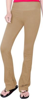 Comfty Solid Women's Beige Track Pants