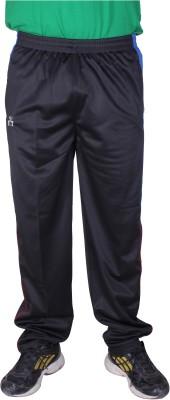 SST 6566V2 Striped Men's Black Track Pants