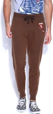 Kook N Keech Marvel Solid Men's Brown Track Pants