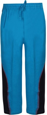 Jazzup Solid Boy's Blue Track Pants