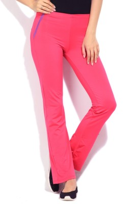 STYLE QUOTIENT BY NOI Solid Women's Pink Track Pants