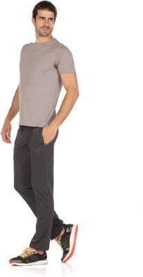 WRIG Solid Men's Grey Track Pants