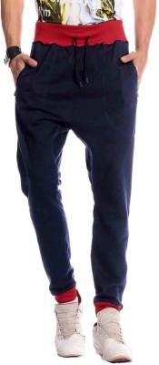 Brohood Bro Solid Men,s Blue Track Pants