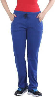 Bfly Solid Women's Blue Track Pants