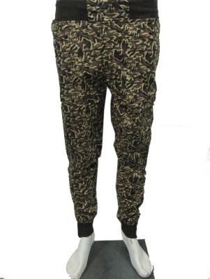 Belladonna Animal Print Men's Multicolor Track Pants
