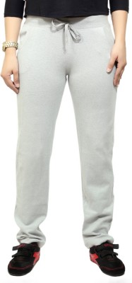 By The Way Solid Women's White Track Pants