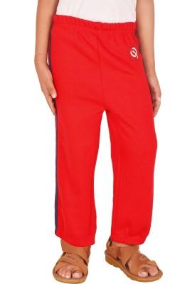 Gkidz Printed Boy,s Red Track Pants