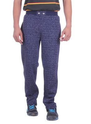 Deutz Printed Men's Dark Blue Track Pants