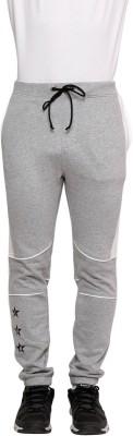 Era of Attitude Solid Men's Grey Track Pants