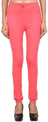 Eimoie Solid Women's Pink Track Pants