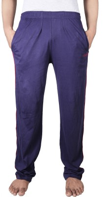 Spur Solid Men's Dark Blue Track Pants