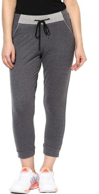 ESPRESSO Solid Women's Black Track Pants