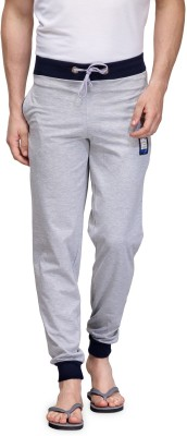 TSX Solid Men's Grey Track Pants