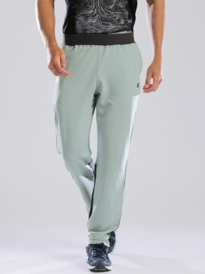 HRX by Hrithik Roshan Solid Men's Green Track Pants