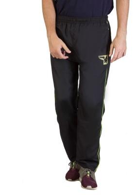 Burdy Solid Men's Black Track Pants