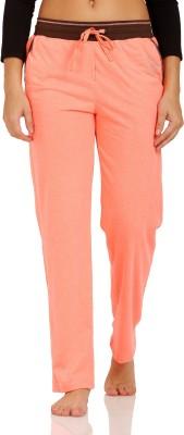 Squirrel Solid Women's Orange Track Pants