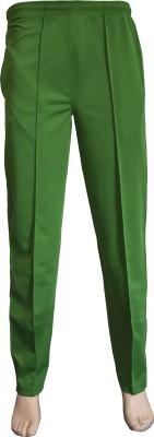 VSP Solid Men's Green Track Pants
