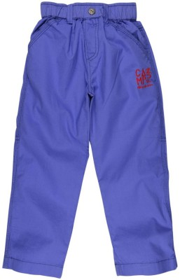 Oye Solid Baby Boy's Blue Track Pants