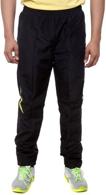 Sports 52 Wear T1295 Solid Men's Black, Yellow Track Pants