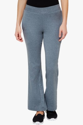 PNY Solid Women's Green Track Pants