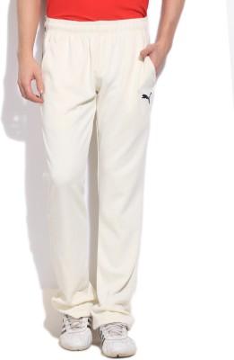 Puma Solid Men's White Track Pants