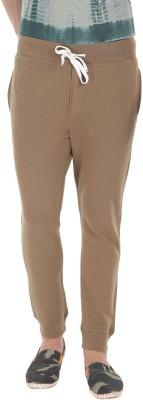 Zobello Solid Men's Brown Track Pants