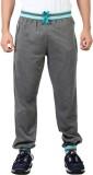 Maniac Solid Men's Grey Track Pants